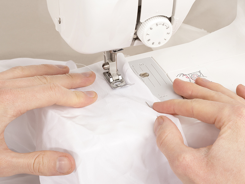 How To Avoid The 40 Most Common Sewing Mistakes Contrado Blog Fascinating 4 Pics 1 Word Woman With Scissors Sewing Machine