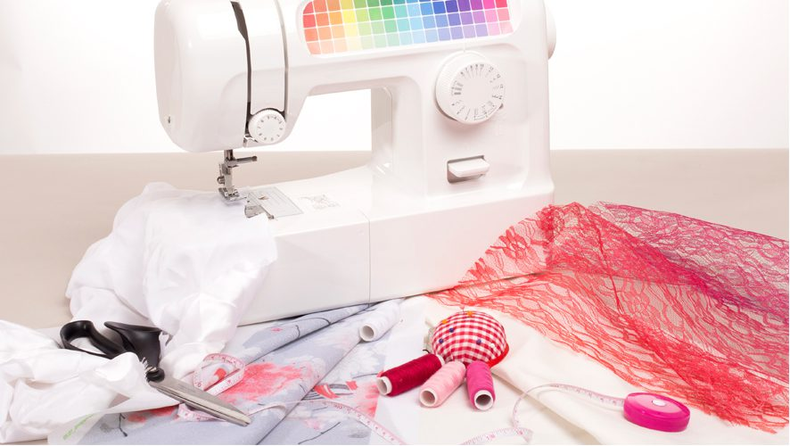 How To Avoid The 40 Most Common Sewing Mistakes Contrado Blog Delectable 4 Pics 1 Word Woman With Scissors Sewing Machine