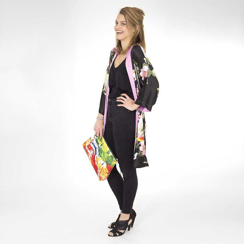 kimono evening look rock chick kimono