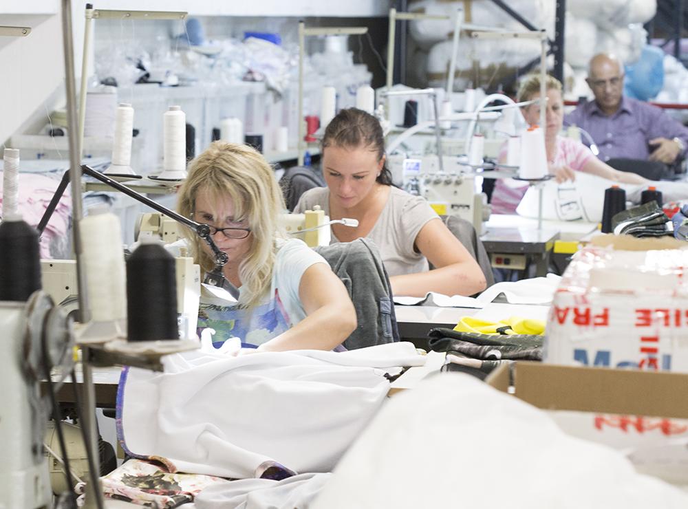 seamstresses at Contrado
