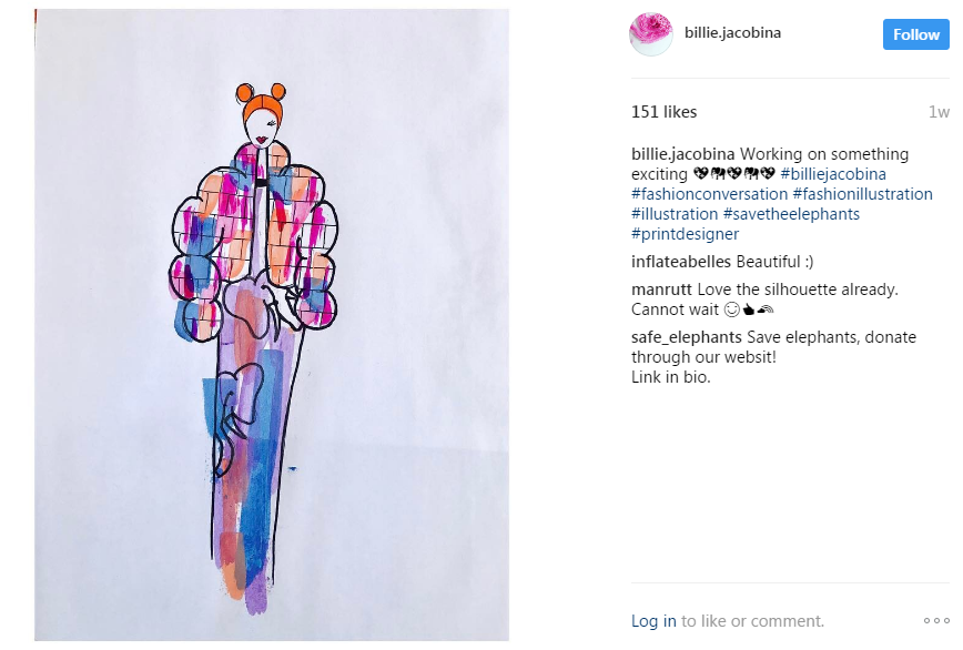 instagram example social media marketing for artists