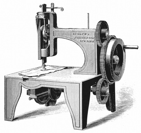 History Of The Sewing Machine A Story Stitched In Scandal Delectable Who Invented The Sewing Machine In The Industrial Revolution