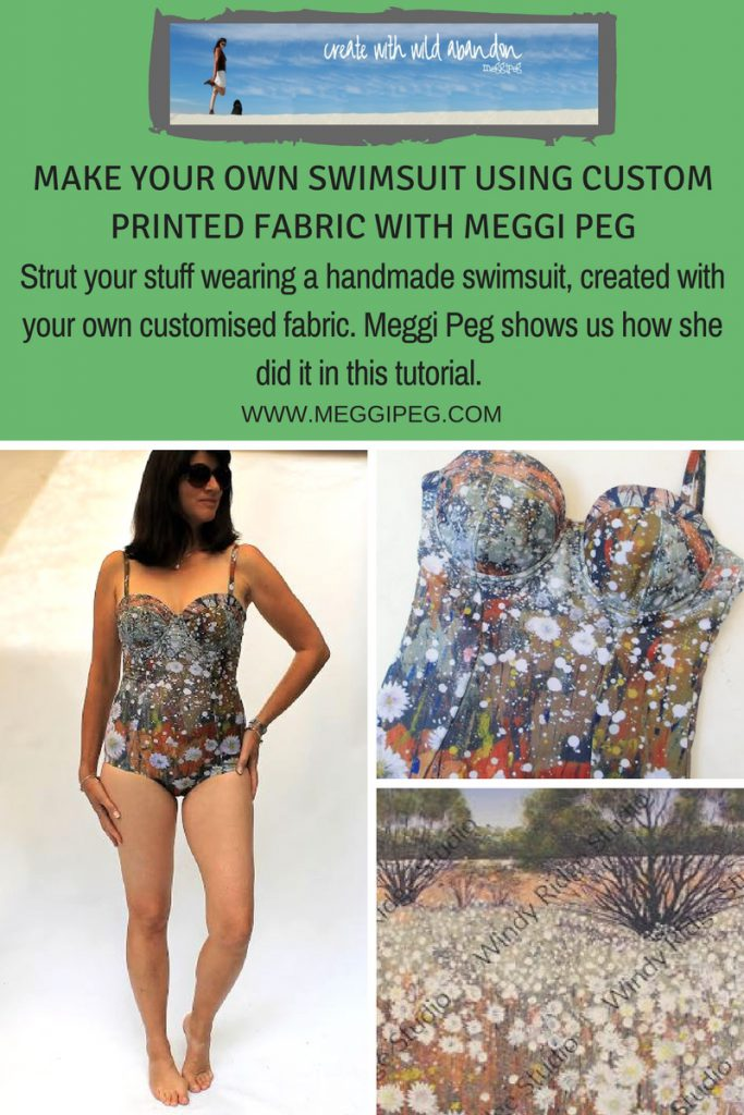 meggipeg make your own swimsuit from custom fabric