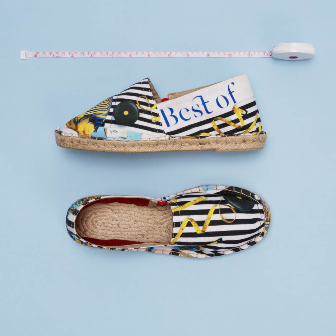 how to sell Maia Franceschi espadrilles art online