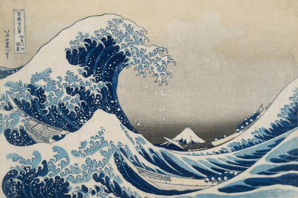hoskusai wave