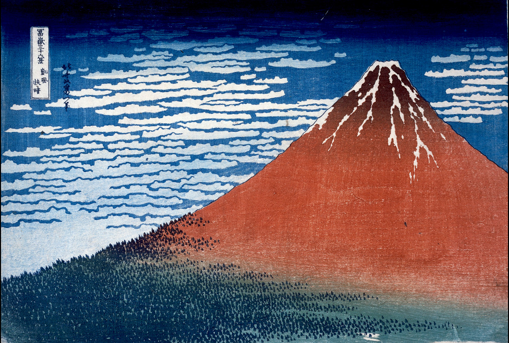 hokusai mount fuji