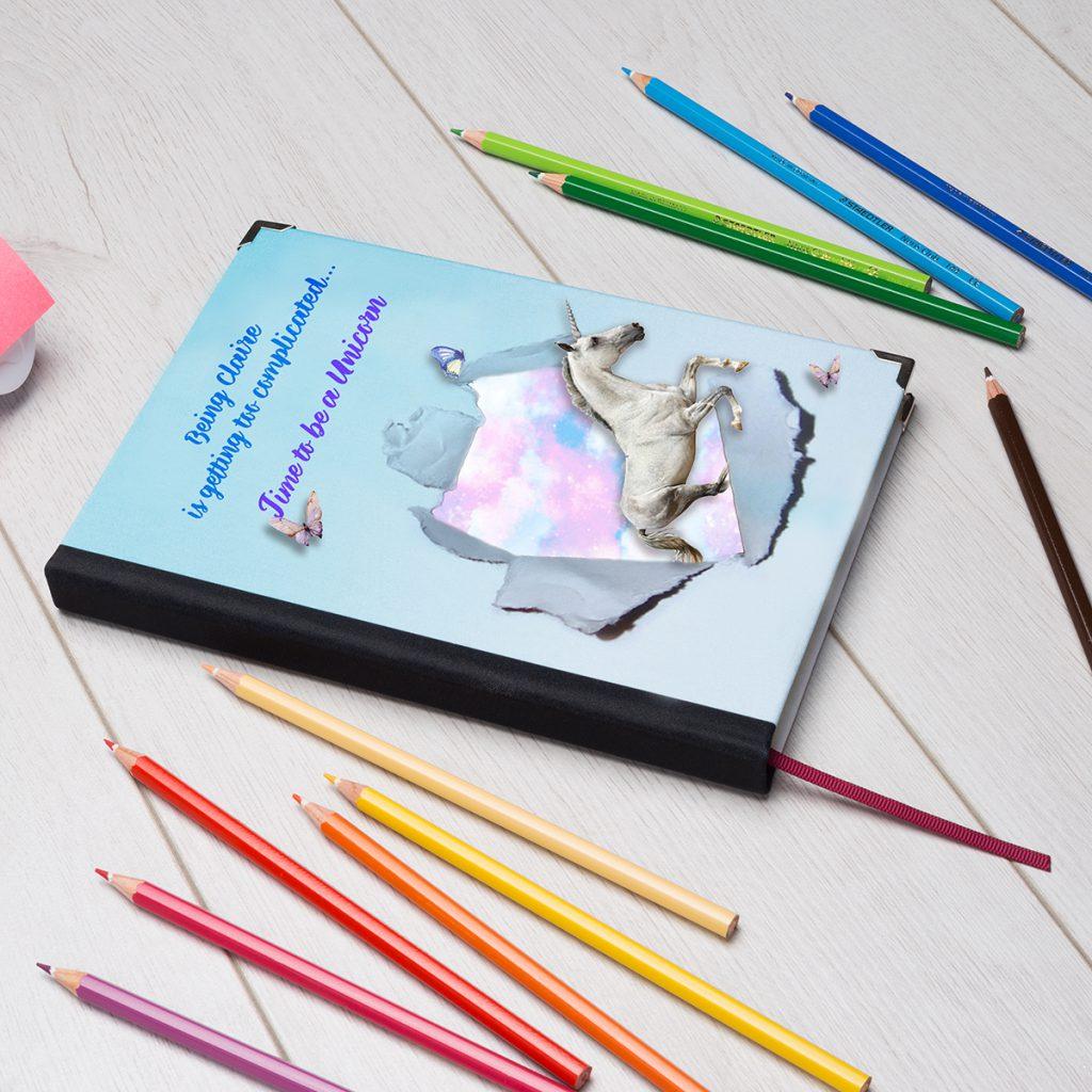 unicorn print diary