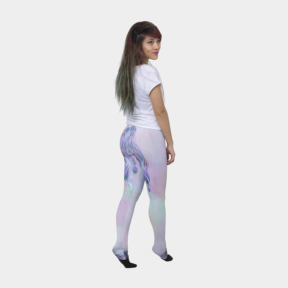unicorn leg leggings