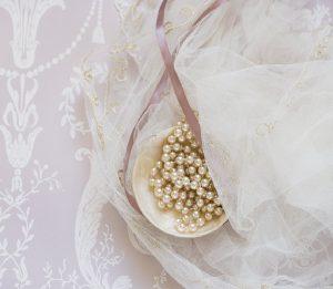 chiffon for bridal wear