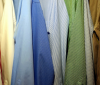 what is poplin blog post image of shirts