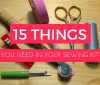 sewing for beginners blog post