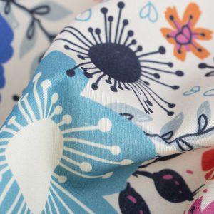 cotton satin underwear fabric