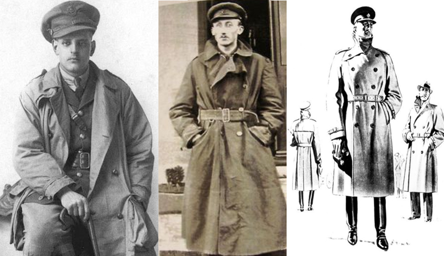 timeless design fc251 44470 History Of The Trench Coat: Military Necessity To Fashion ...