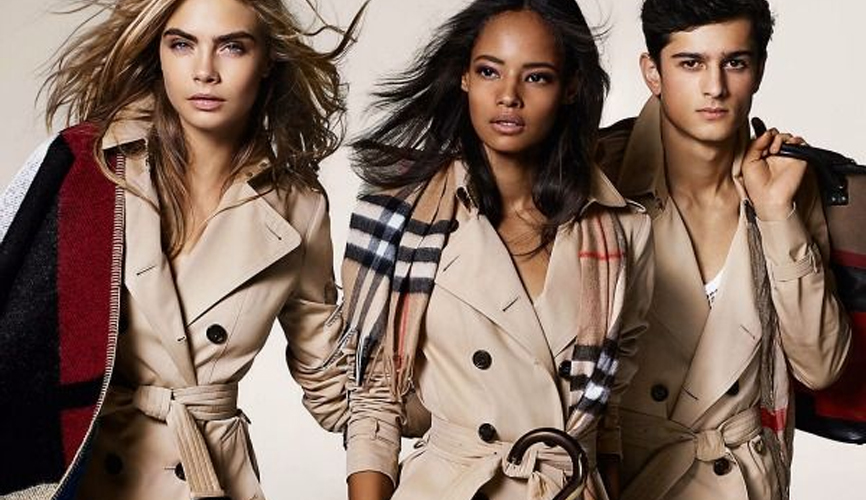 burberry trench 2000's
