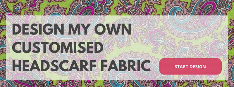 design your own customised headscarf