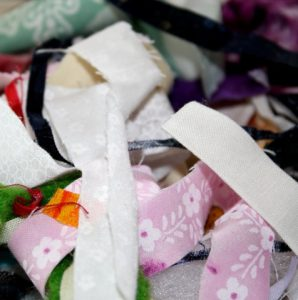 colourful scraps