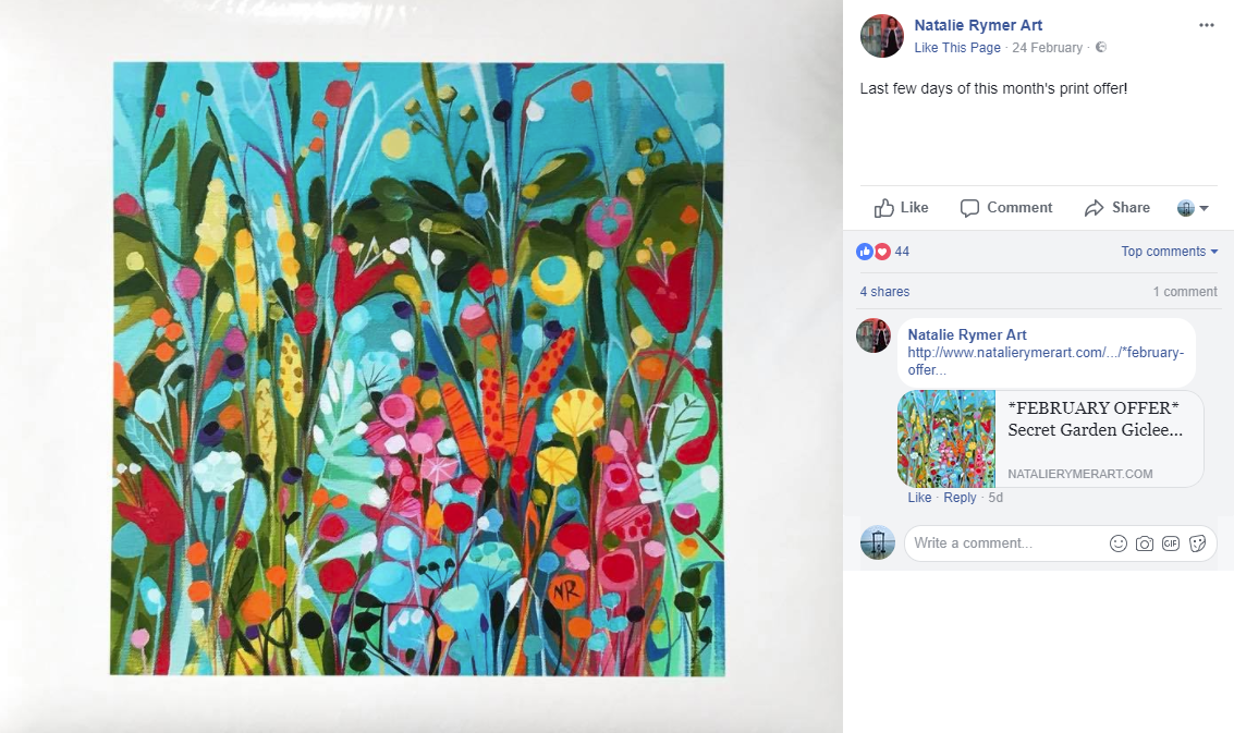 facebook marketing tips for artists