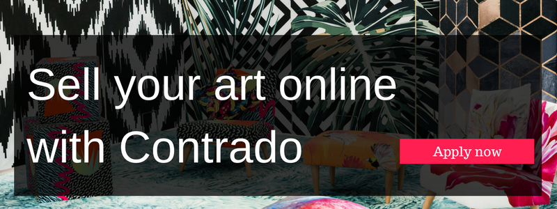 click here to sell your art online with contrado