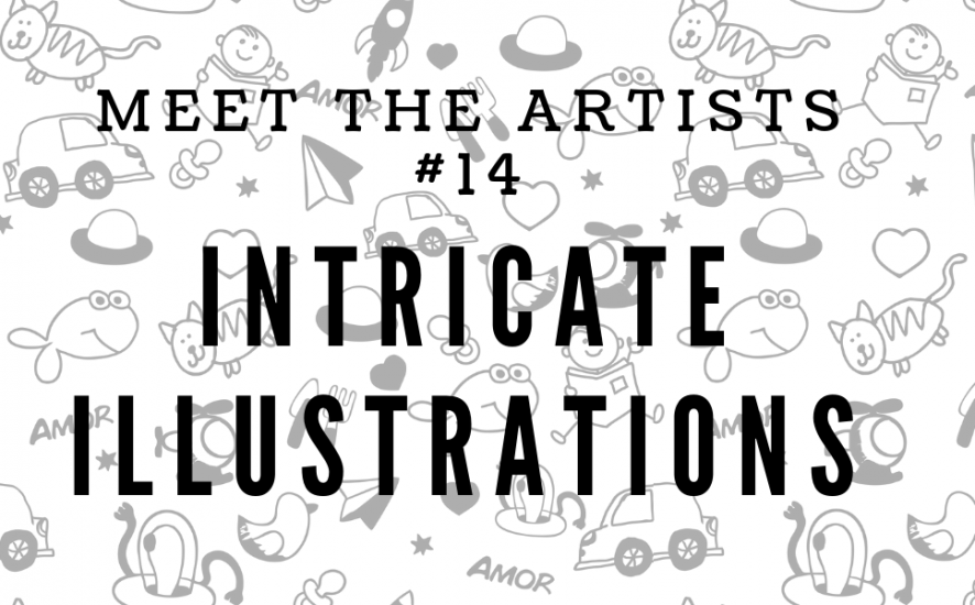 illustrations meet the artists