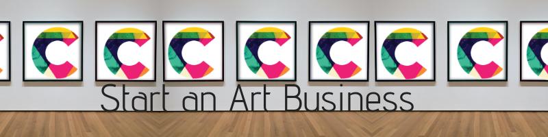 Start an art business footer