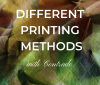 Different printing methods