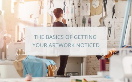 how to get my art noticed