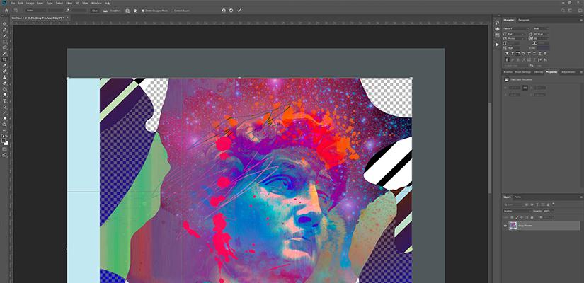 digital stitching - Finalising your Image
