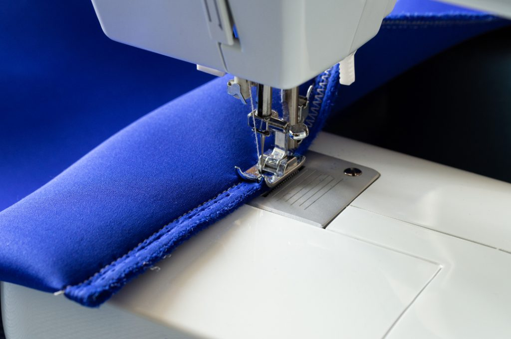 scuba fabric sewing