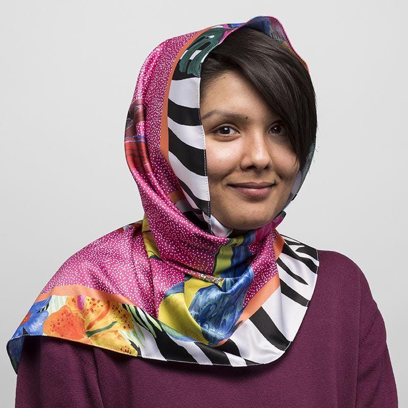 how to design hijab