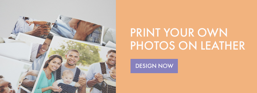 print photos on leather