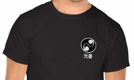 logo on chest