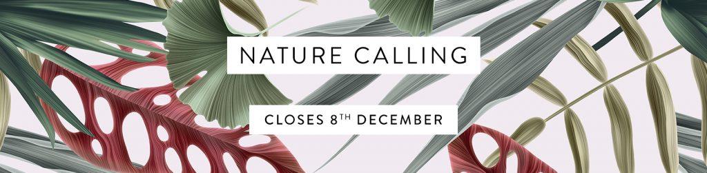 nature calling banner