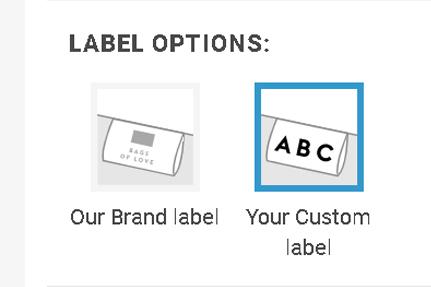 custom brand labels