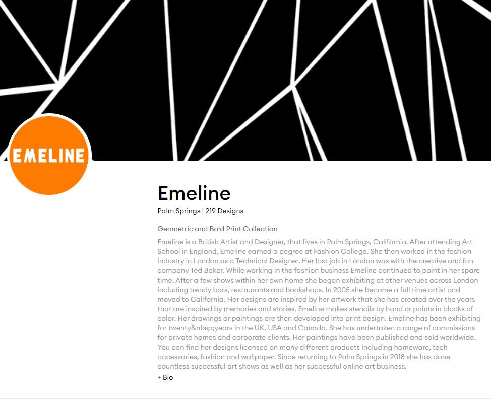 Emeline contrado artist store