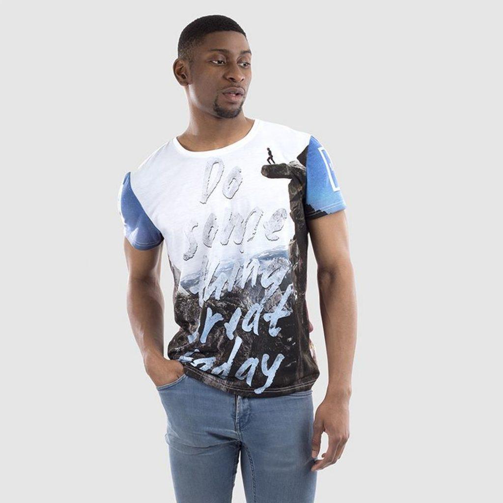 mens custom quote t-shirt